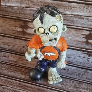 Broncos NFL Zombie Gnome Figure